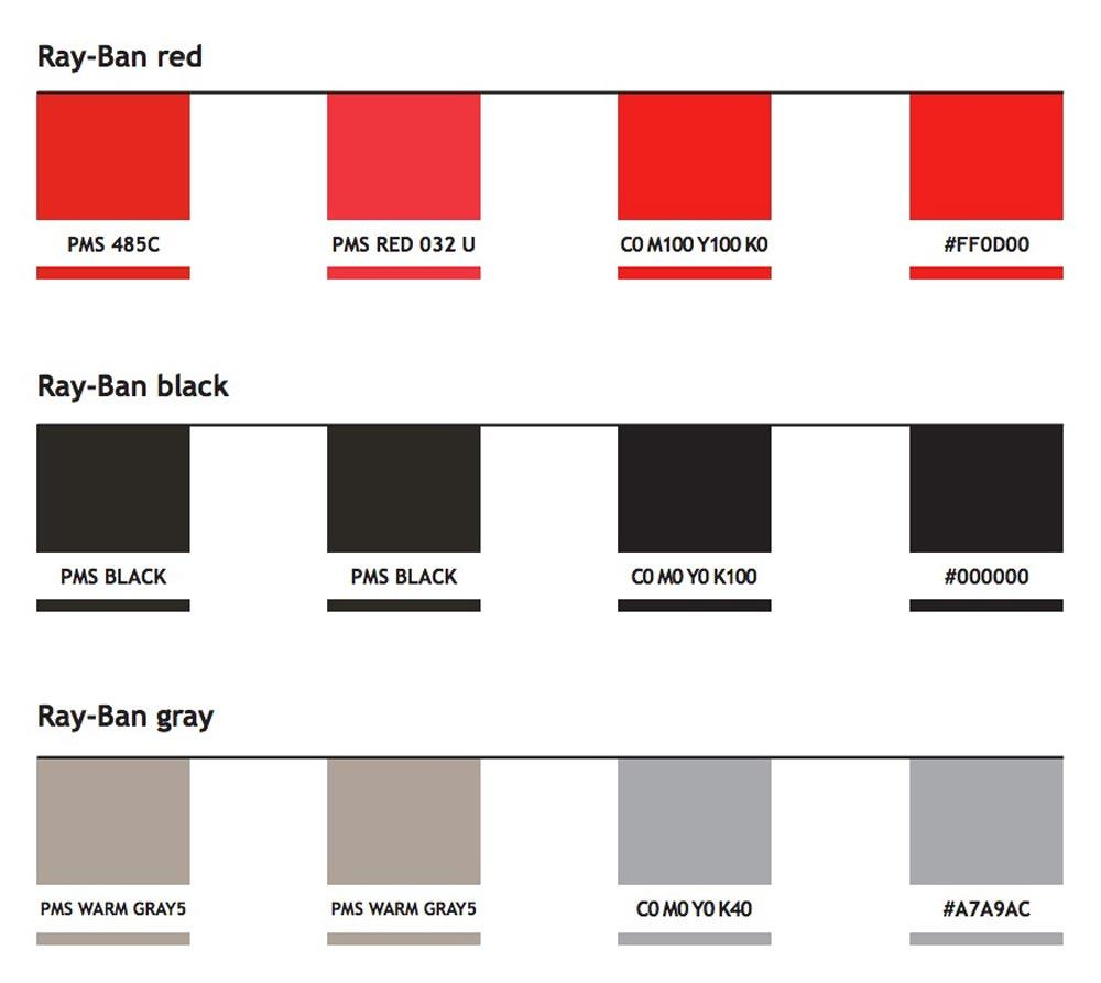 Ray-Ban Logo Guidelines