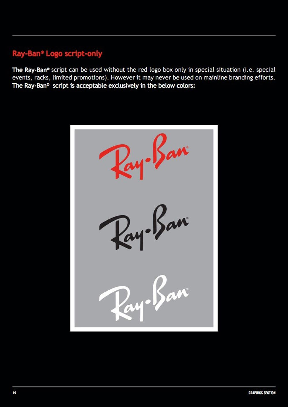 Ray-Ban Brand Guidelines