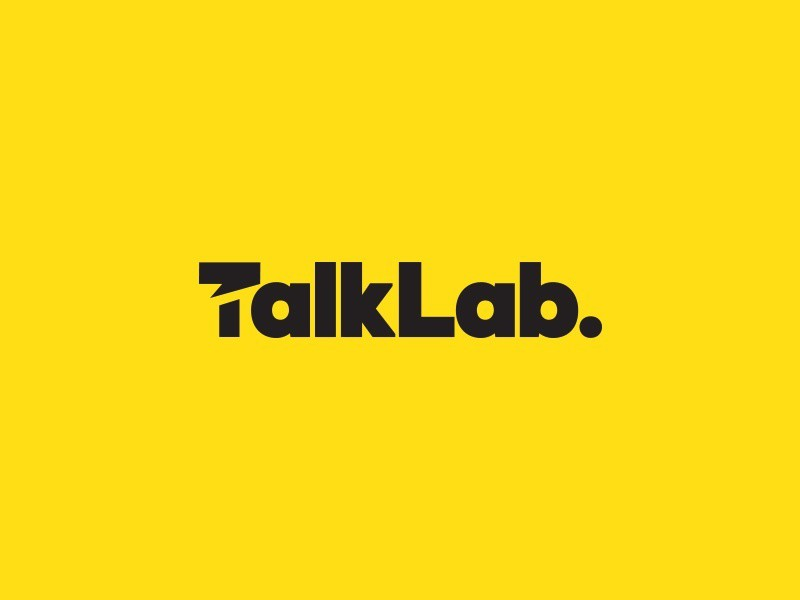 TalkLab Logo and Graphic Design Project
