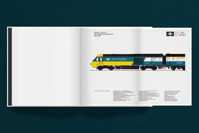 British Rail Corporate Identity Manual on Kickstarter