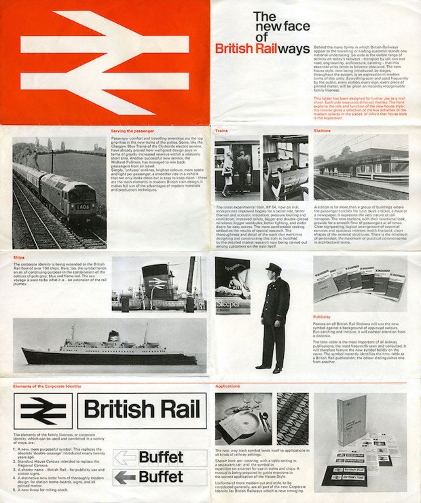 British Rail logo was created by Gerry Barney 2