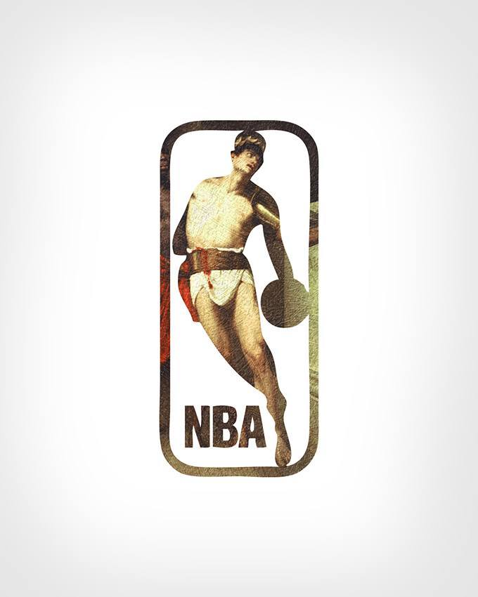 NBA Logo and Art by Eisen Bernard Bernardo