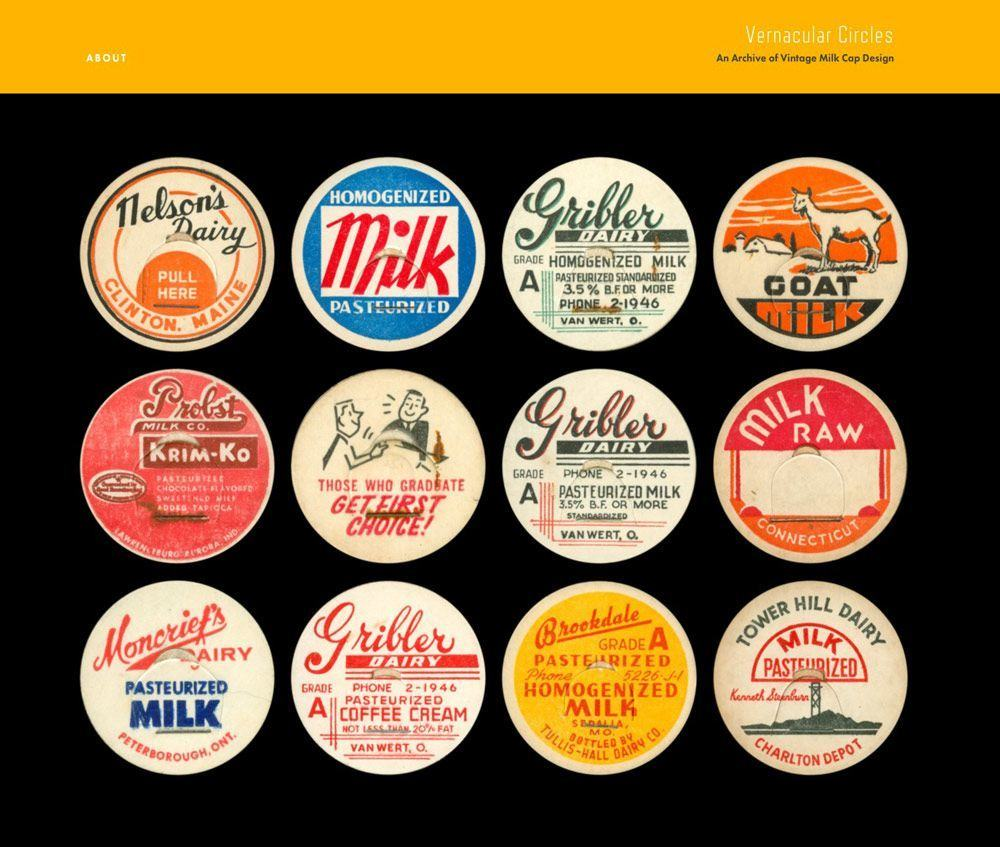 Vernacular Circles An Archive of Vintage Mile Cap Designs