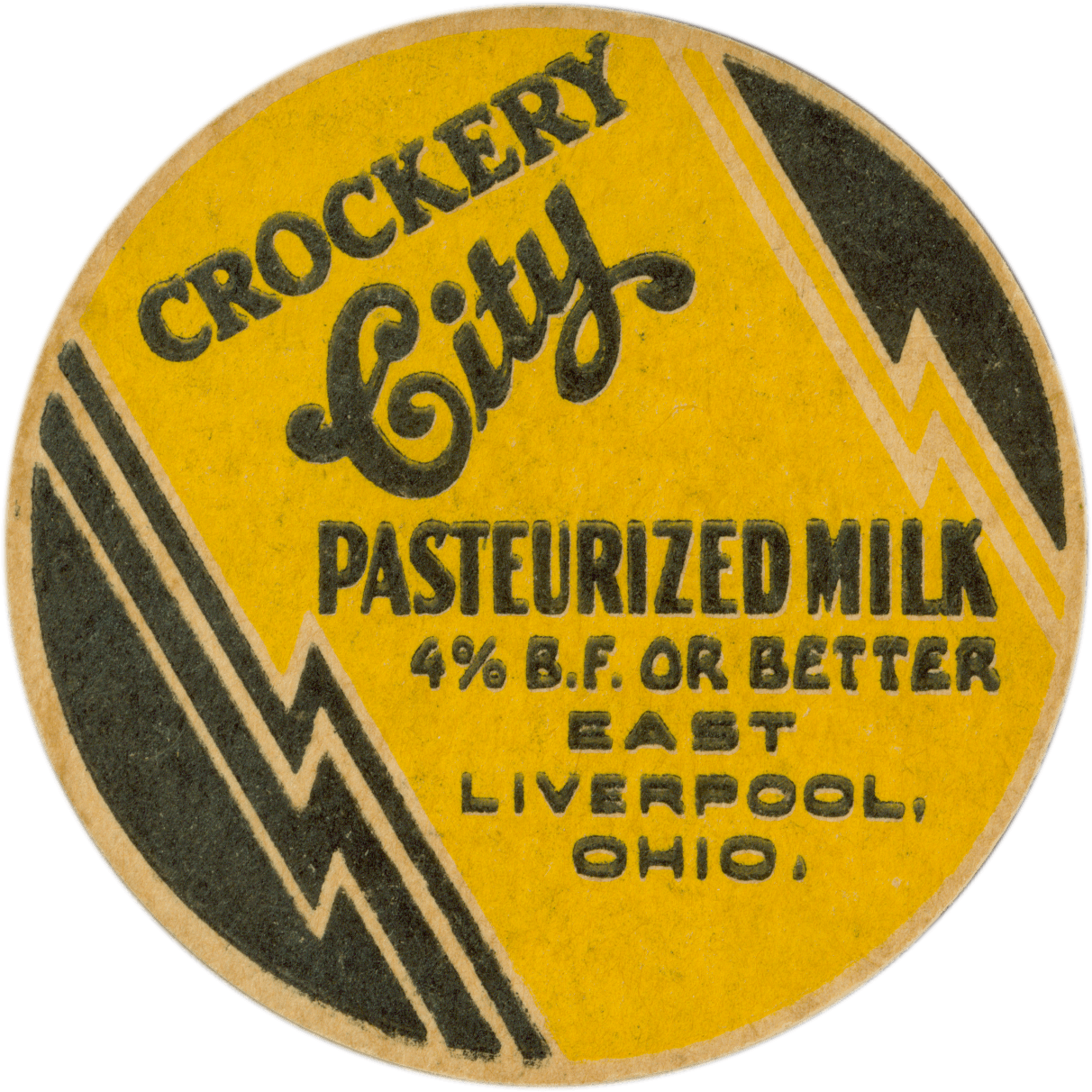 Crockery City Pasteruized Milk