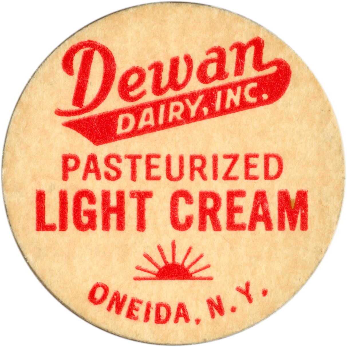 Dewan Dairy Inc. Pasteurized Light Cream