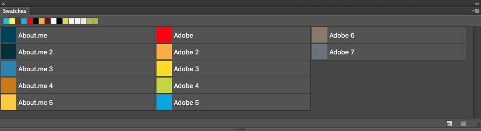 BrandColors ASE File Photoshop