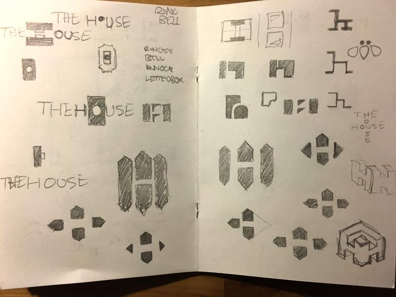 The-House-Logo-Sketches