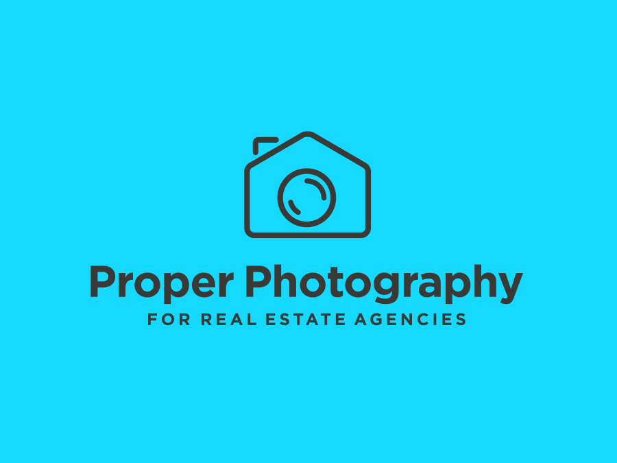 Real Estate Agent Logo Design for Photographer