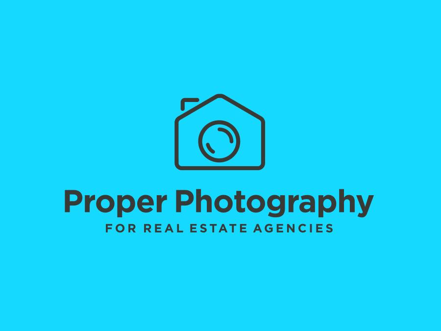 Real Estate Agent Logo Design for Photographer