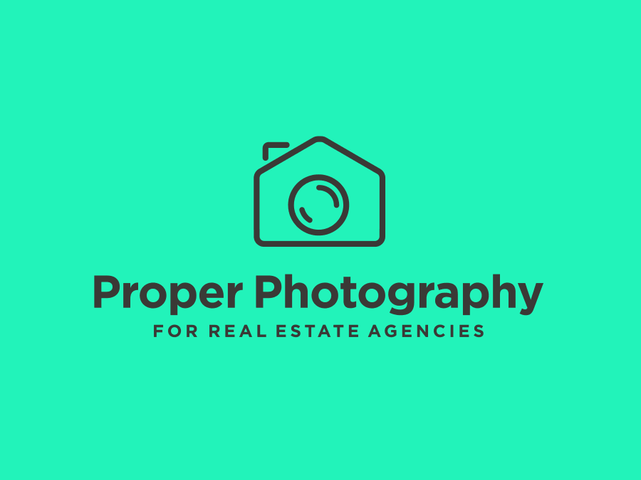 Real Estate Agent Photographer Logo Design