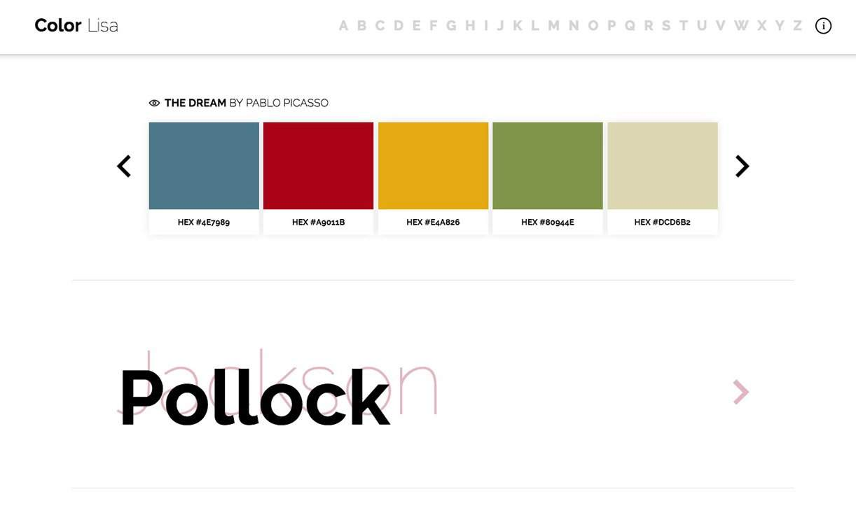 Color-Lisa-Color-Palettes-by-Pablo-Picasso-for-Graphic-Designers-1