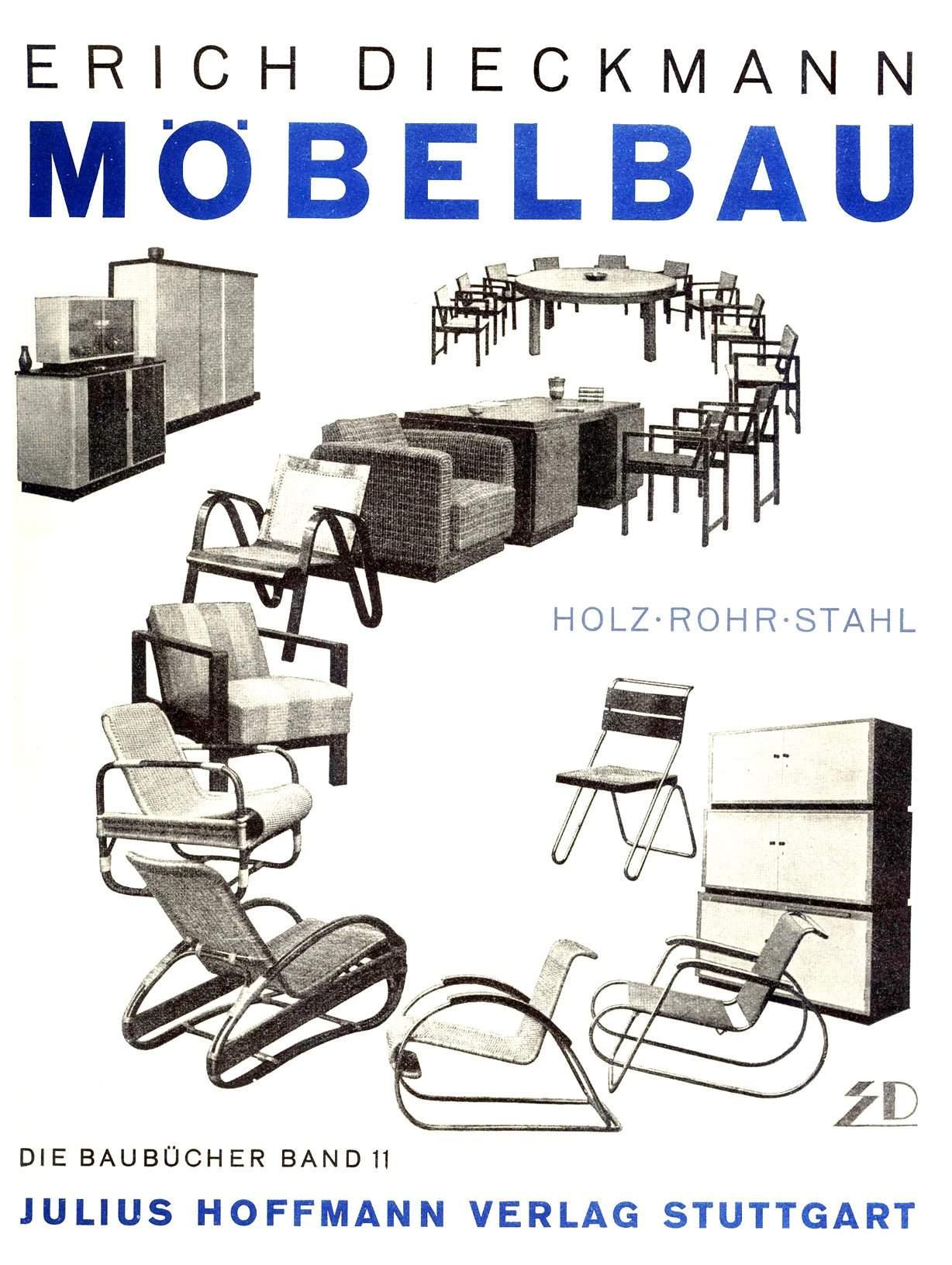Erich-Dieckmann--Mobelbau-in-Holz-Rohr-und-Stahl