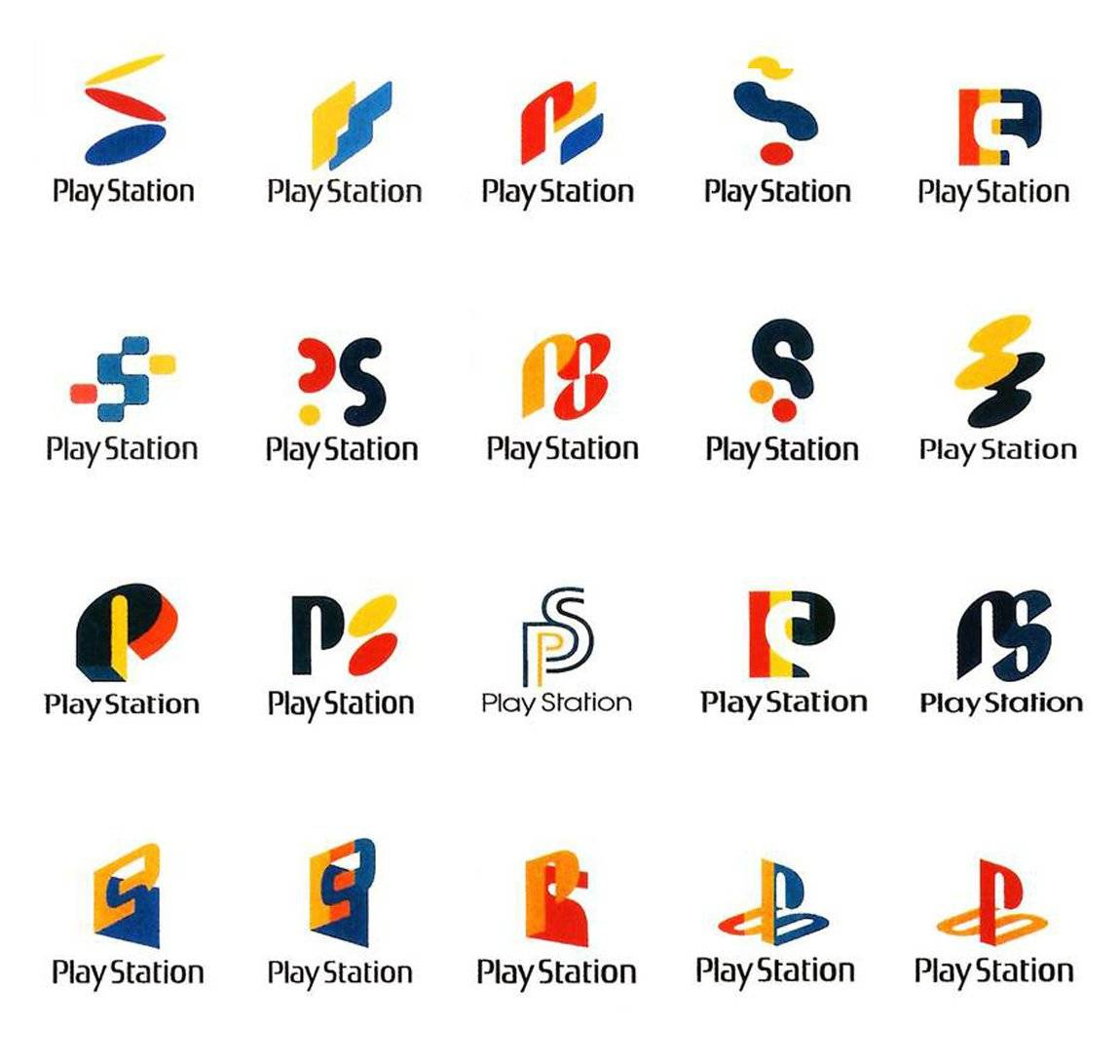 Sony Playstation 1 Logo Design Ideas, Concepts and WTF