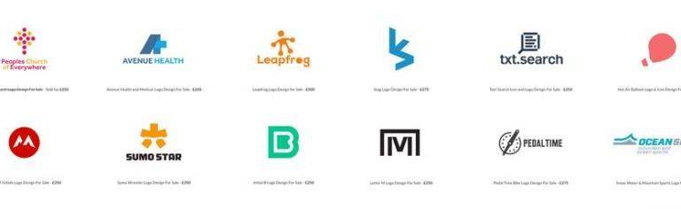 Custom logo designs icon and symbols for sale