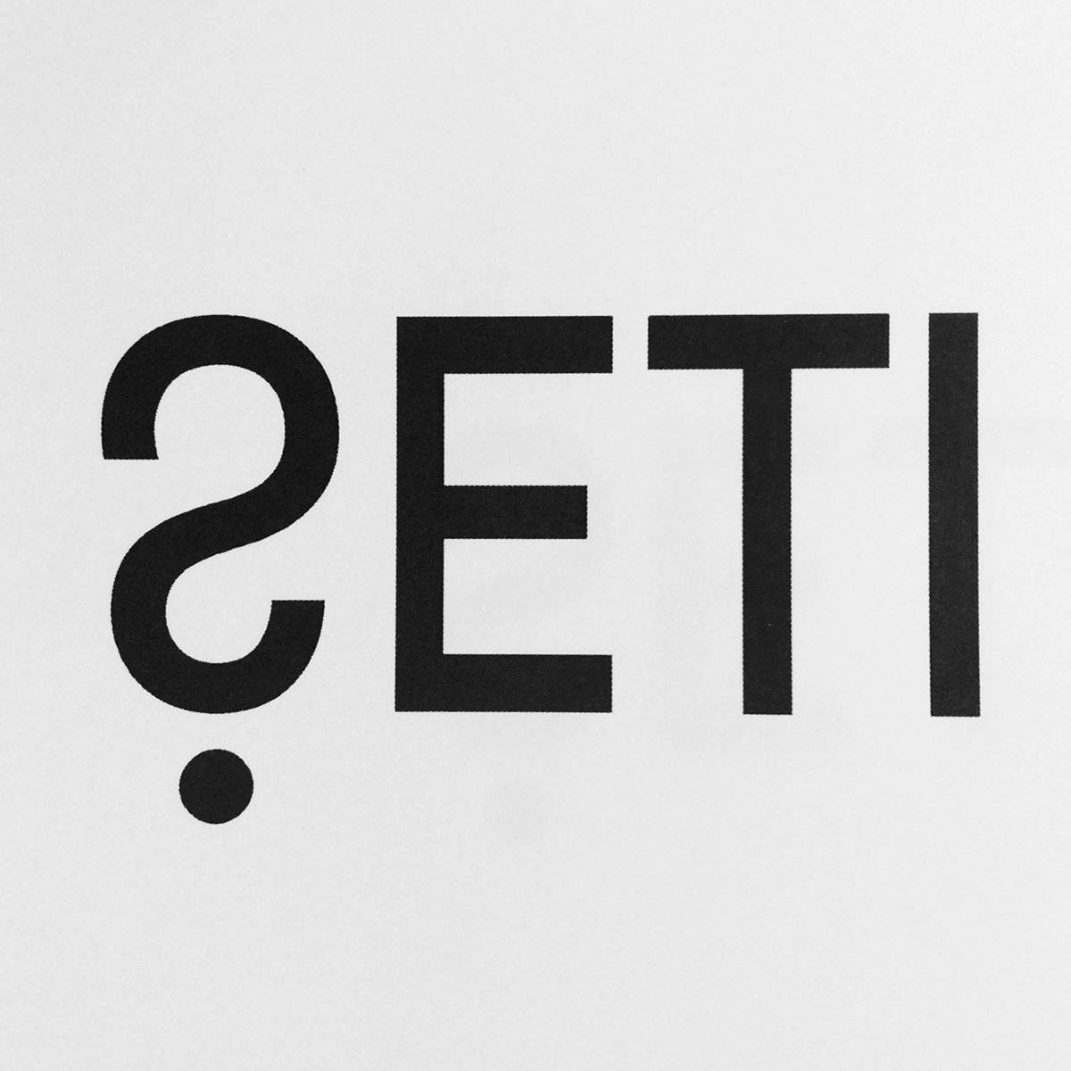 New SETI Institute Logo design by Trevor Beattie