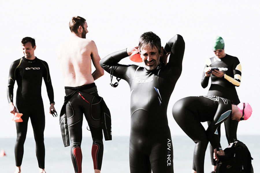 Paddle Round the Pier with Brighton Tri Club Sports Photography