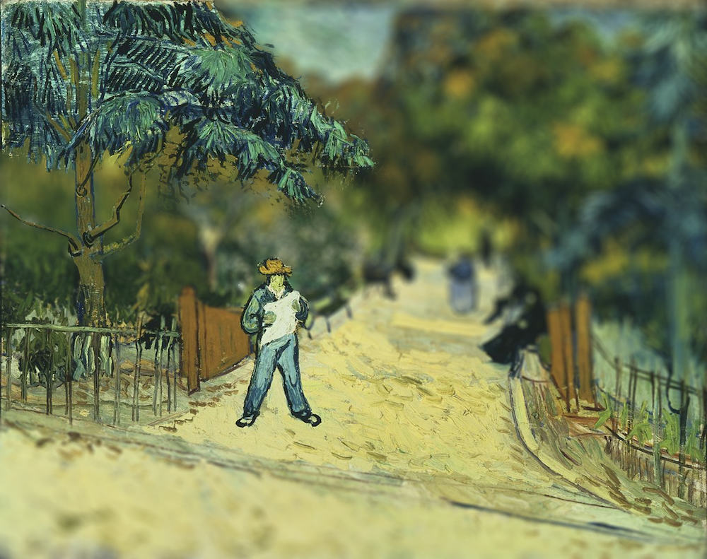Tilt Shift Vincent Van Gogh Painting