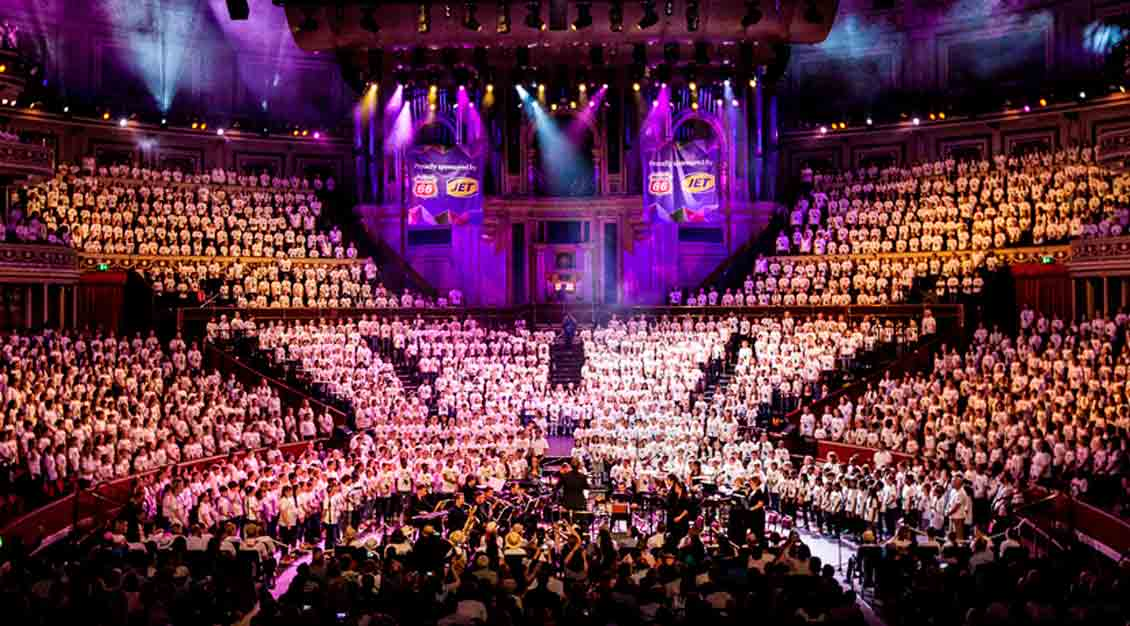 AC Academy Logo Design Royal Albert Hall Choir Logo
