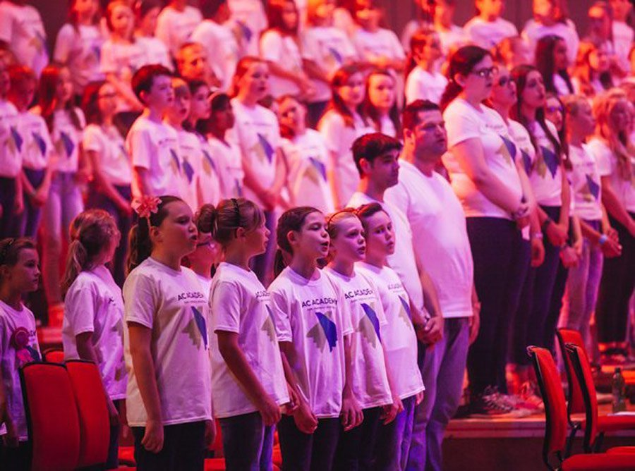 AC Academy Logo Design Royal Albert Hall School Choir Logo
