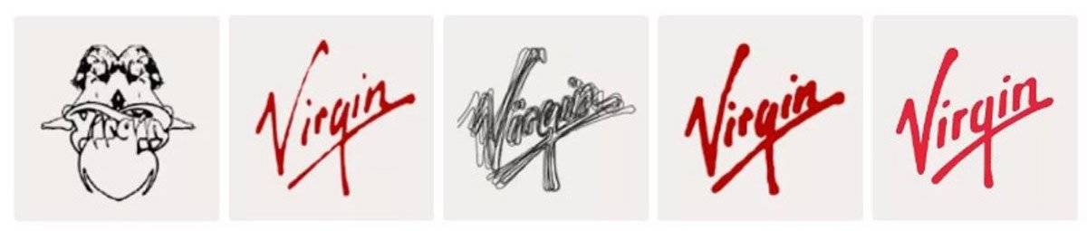 Virgin Logo Design History