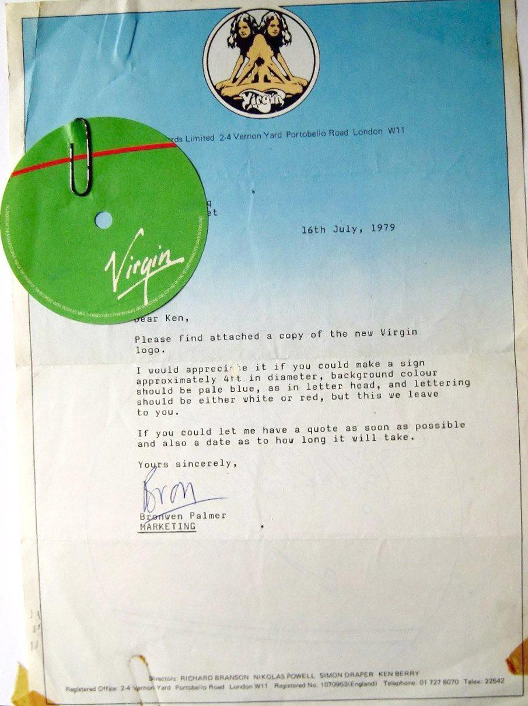 Virgin Letter 1979