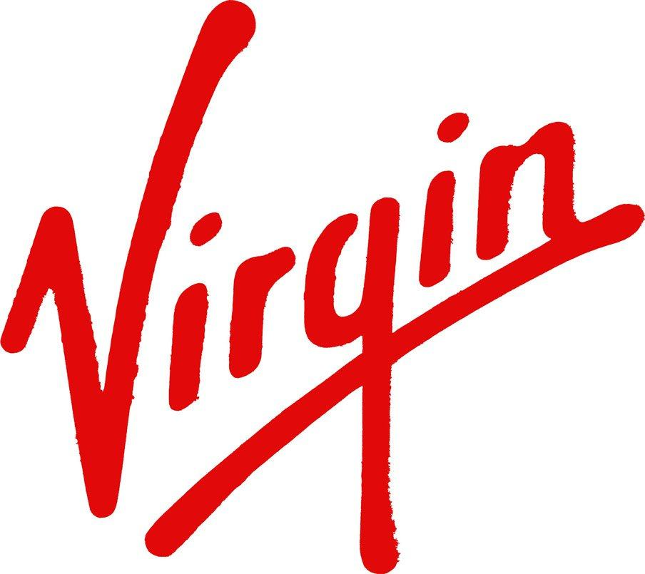 Virgin NASA logo Design