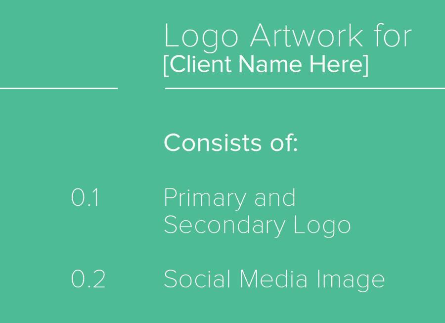 Client Logo Artwork Sheet for Download
