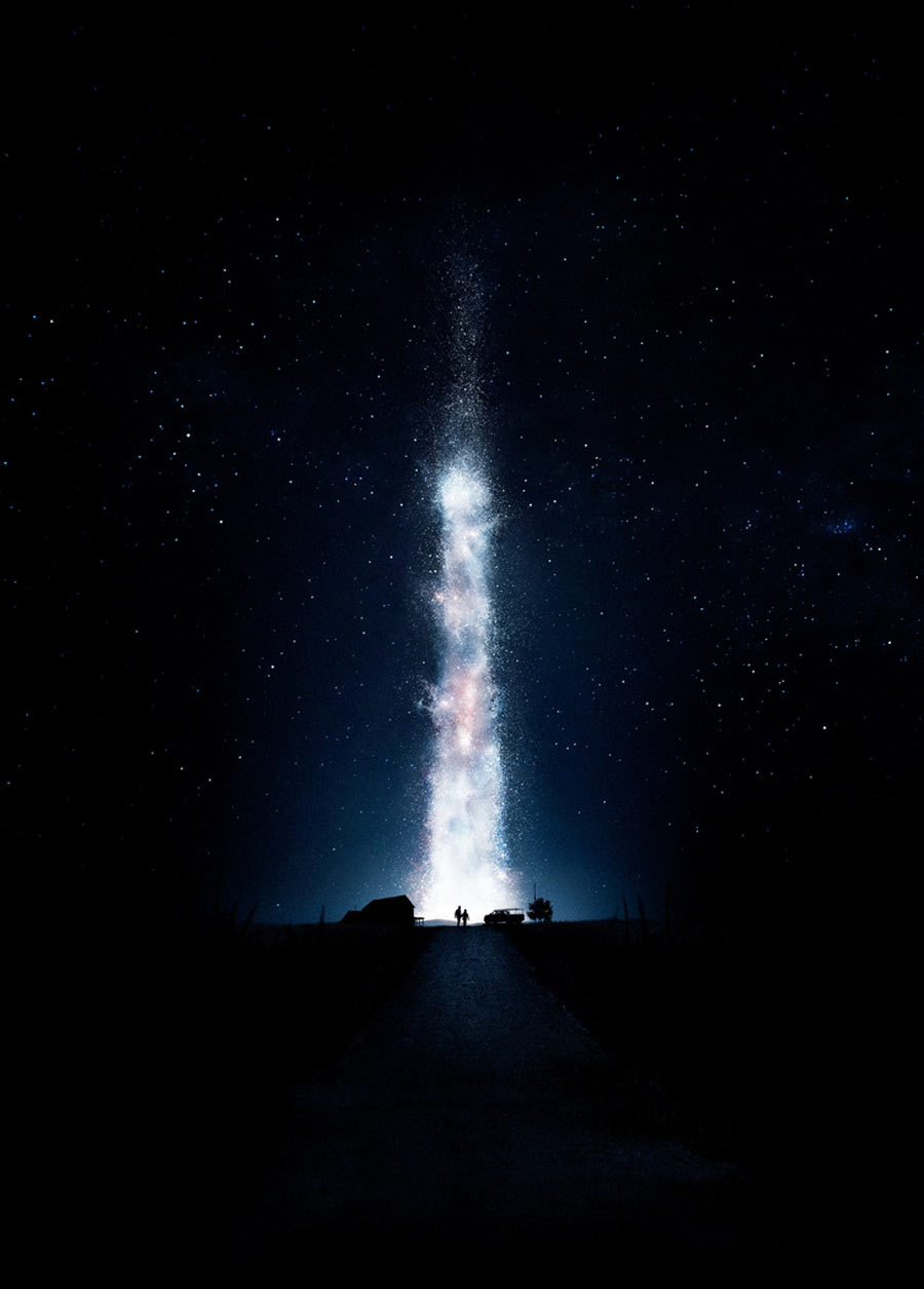 Textless Movie Posters Interstellar Film Poster without Film Titles & Wording