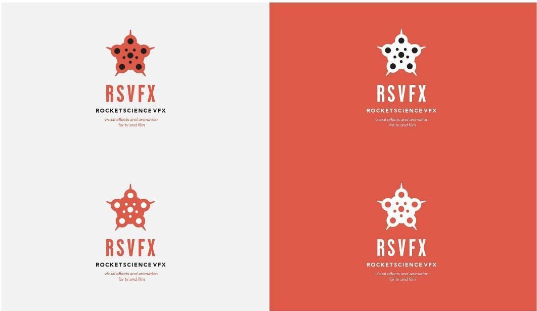Rocket Science VFX RSVFX Brand Logo Design Case Study 5