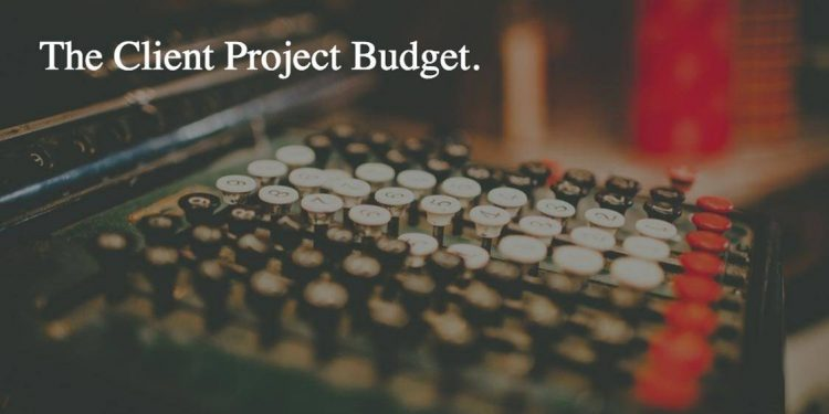 The-Client-Logo-Project-Budget