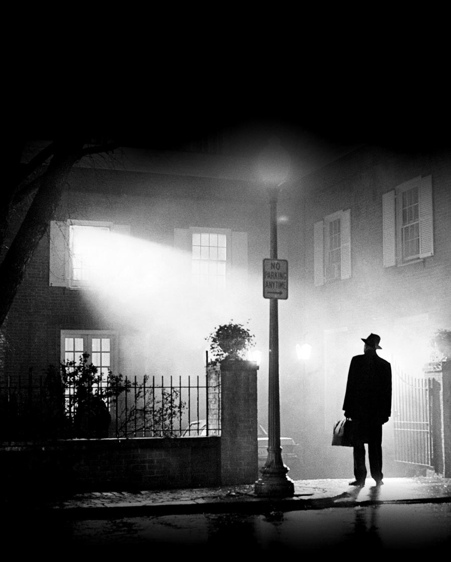 The Exorcist Film Poster without Film Titles & Wording