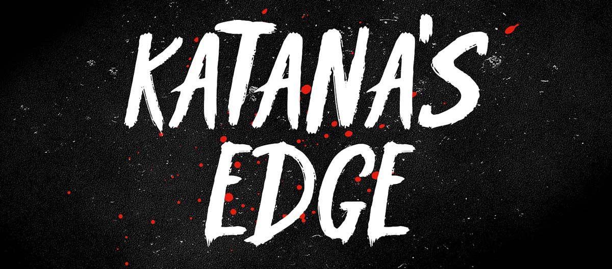 Free Font Κatana's Edge Typeface