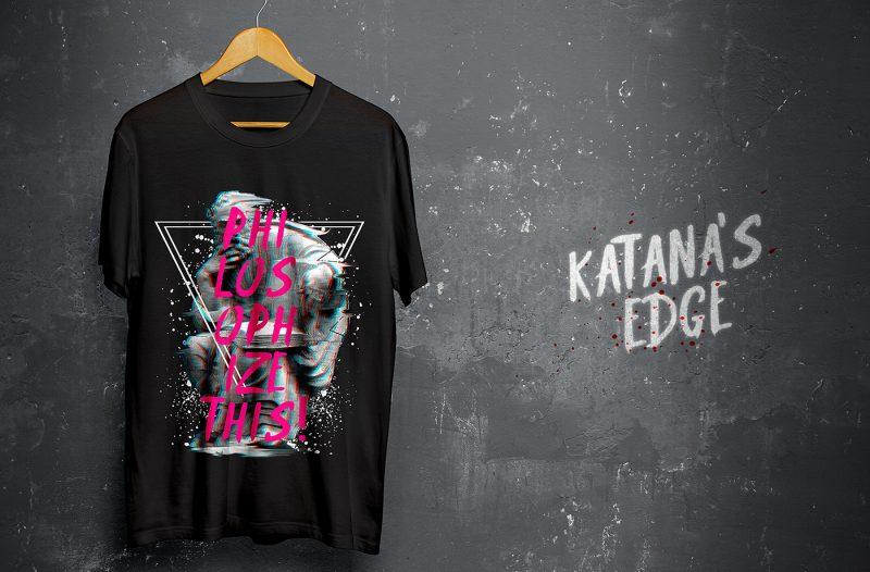 Free Font Katana's Edge