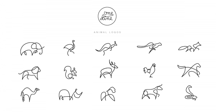 one-line-animals-logos-featured