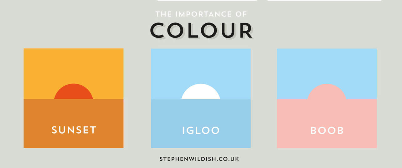 The importance of colour in design
