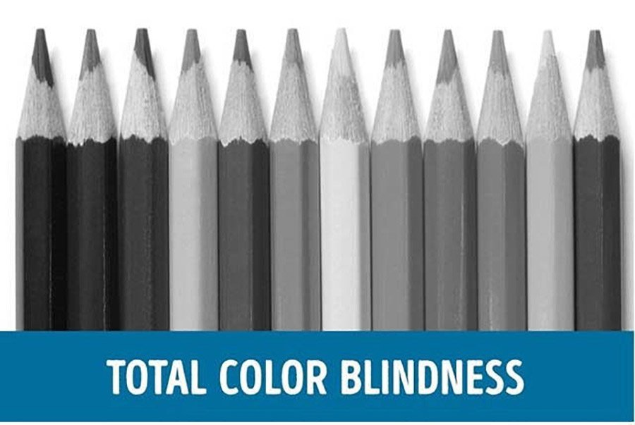 Color-blindness-demonstration---Total-colour-blindness