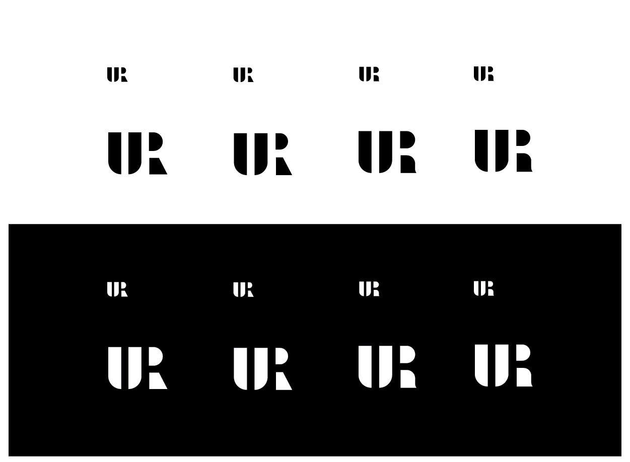 UR-negative-space-type-logo
