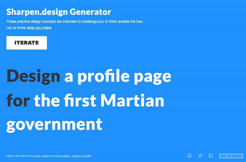 Random Logo & Graphic Design Challenge Generator 1