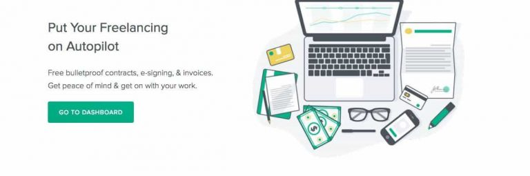 freelance contract by Bonsai