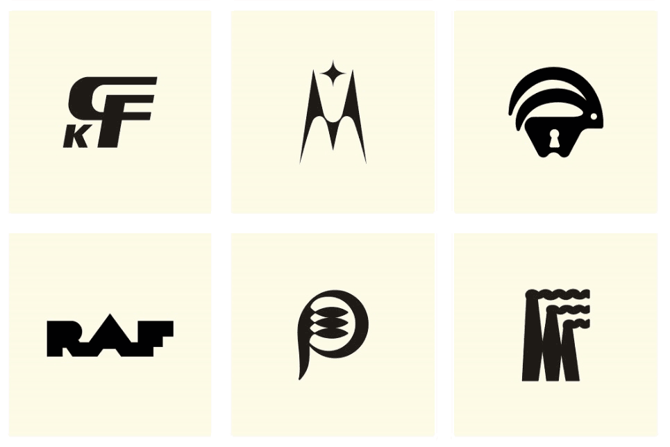Never Published Logos & Trademarks Designed in the USSR