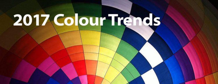 2017 colour trends in graphic design