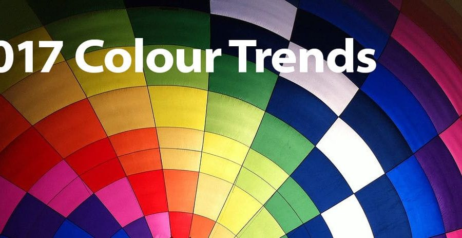 2017 colour trends in graphic design