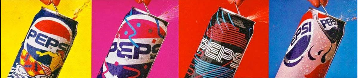 Vintage Pepsi Advertisement - Our Idea of Pop Art
