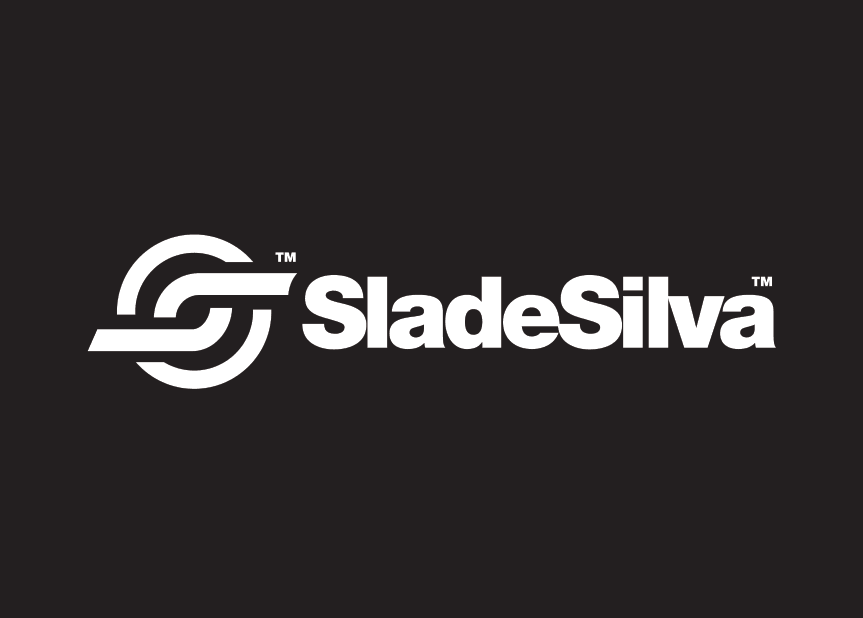 DJ-Slade-Silva-Logo-Design-Black-thelogosmith