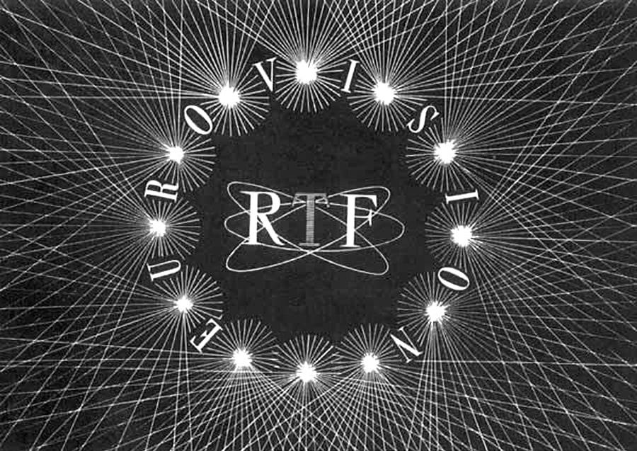 RTF Eurovision TV logo design