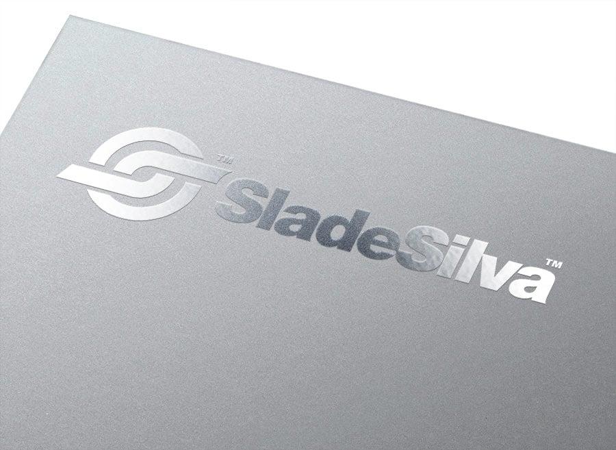 DJ Slade Silver Logo &Brand Identity Design designed by TheLogoSmit