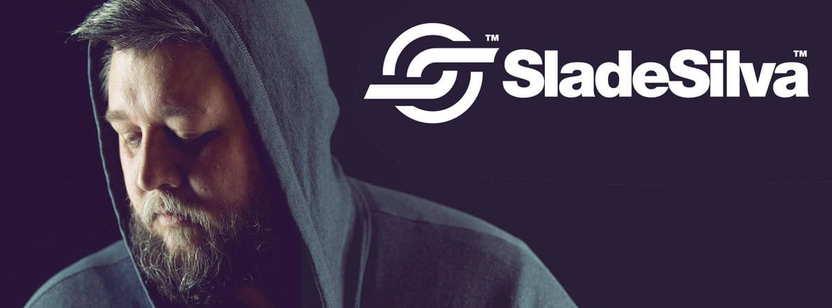 DJ Slade Silver Logo &Brand Identity Design