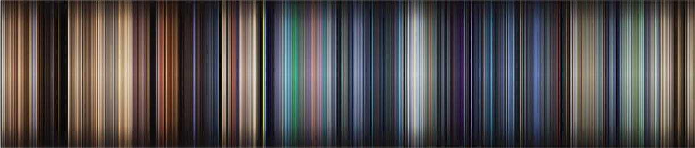 wall-e movie spectrum by Dillon Baker