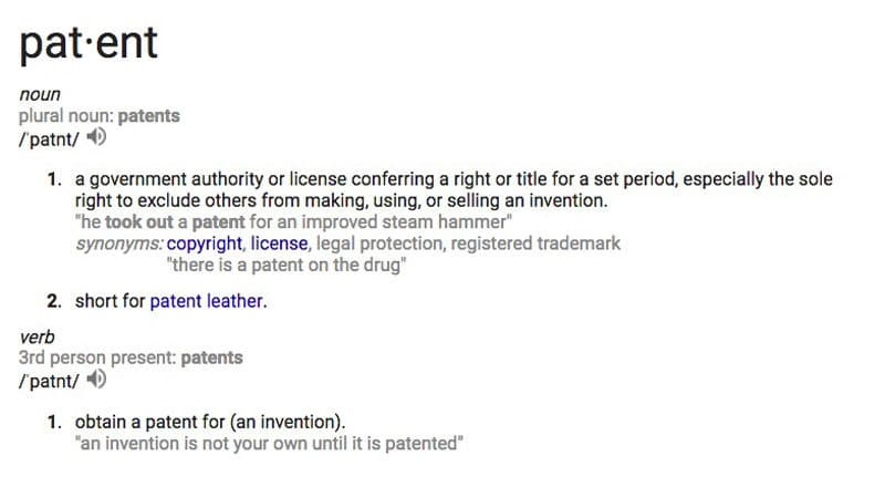 what-is-a-patent