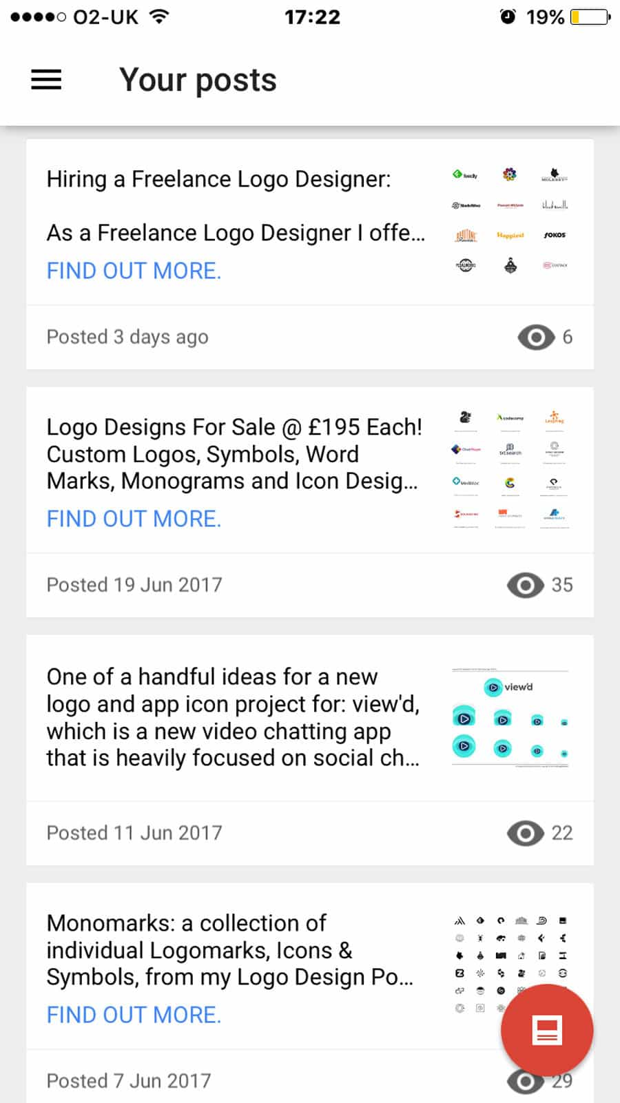 My Business Google Posts for The Logo Smith